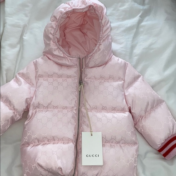 CONVERSE BABY PINK SNOW SUIT BNWTS
